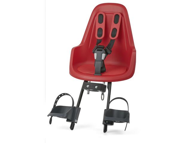 bobike One Mini Barnesæde til cykel, strawberry red